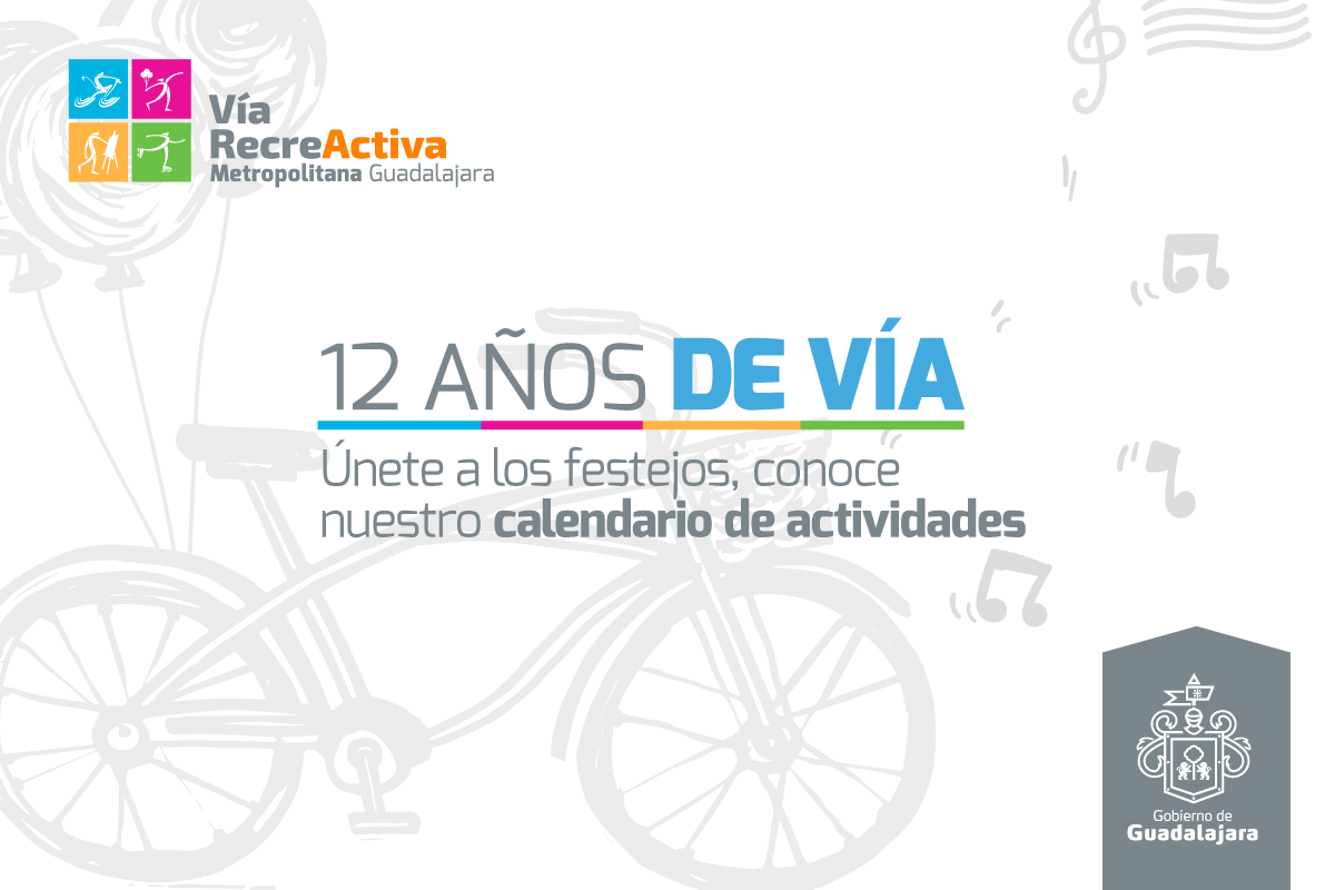 Festejos del Aniversario 12 de la VíaRecreactiva